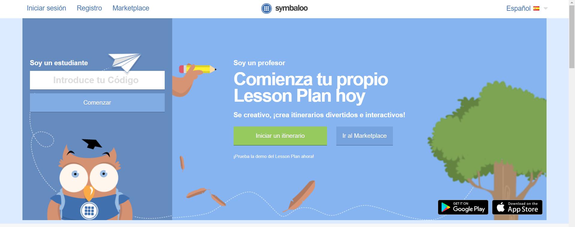 Inicio de Lesson Plan con código.