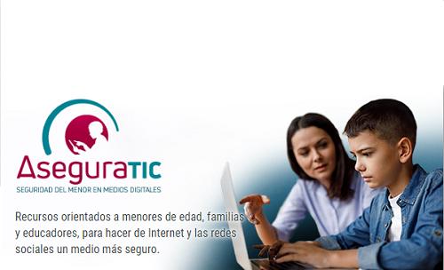 Presentación del sitio web AseguraTIC