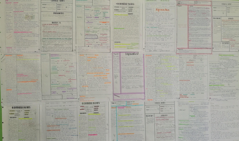 Cornell Notes al trabajar los vídeos FC.
