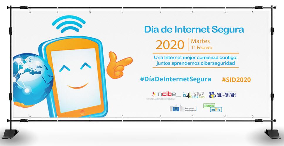 Imagen promocional del evento organizado por INCIBE e IS4K. Tomada de: https://www.incibe.es/sid.