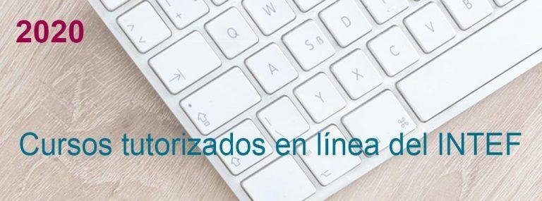 Convocatoria 1º Edición de cursos tutorizados en línea 2020. Listados definitivos.
