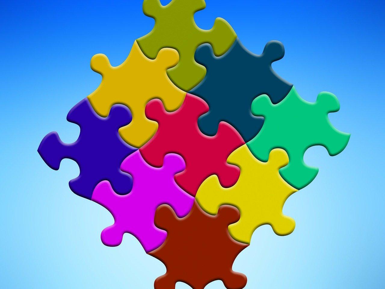 Imagen de un puzzle.