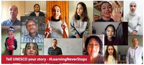 Comparte tu experiencia con la UNESCO – #LaEducaciónContinúa