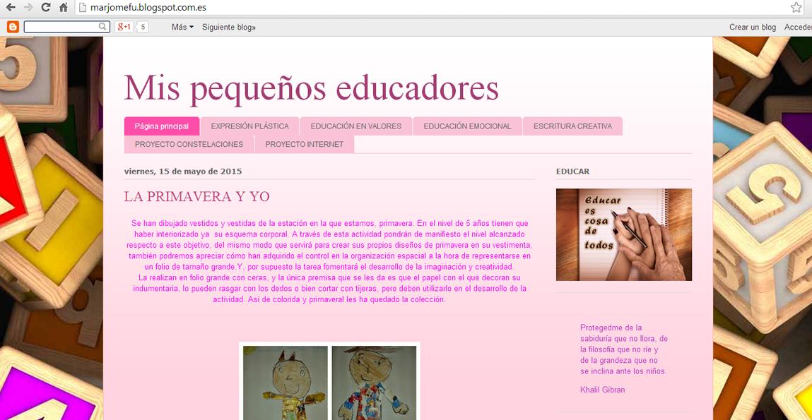 Nuestro blog de aula.