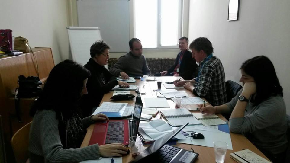 Trabajo de coordinación del proyecto.