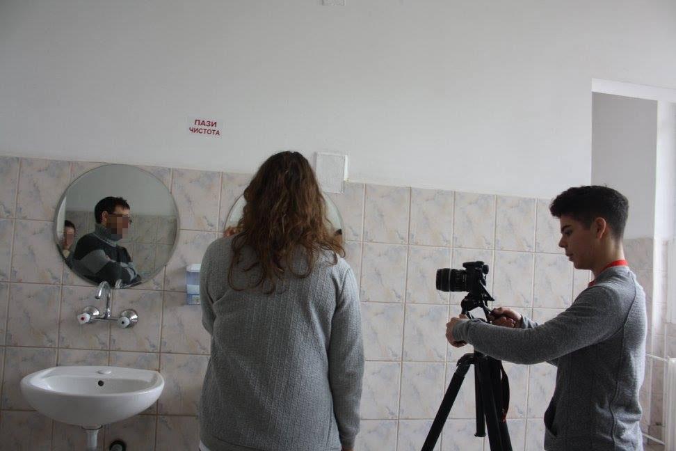 Filmación de cortometrajes internacionales.