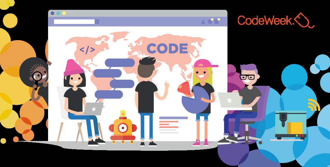 Participa en la CodeWeek del 10 al 25 de octubre