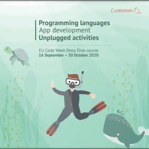 imagen ilustrativa curso codeweek