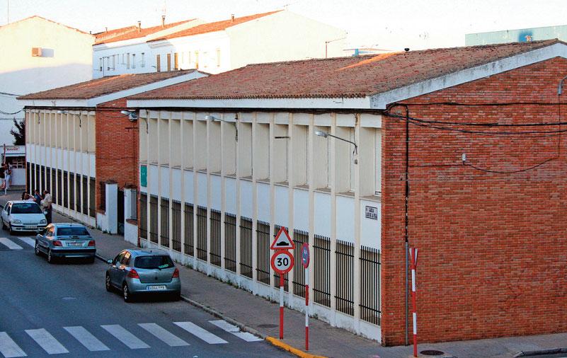 CEIP Juan XXIII de Zafra, Badajoz.