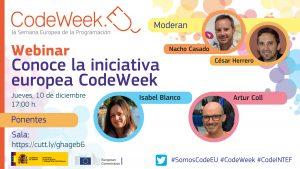 imagen representativa conoce la iniciativa europea CodeWeek