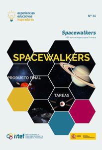 """Portada de la Experiencia """"Spacewalkers"""""""