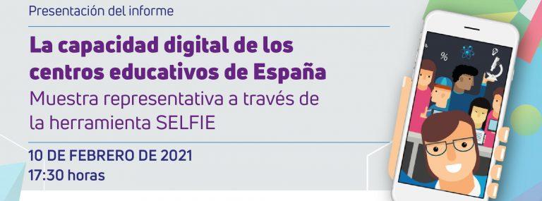 """Evento """"Centros Educativos Digitalmente Competentes en España"""""""