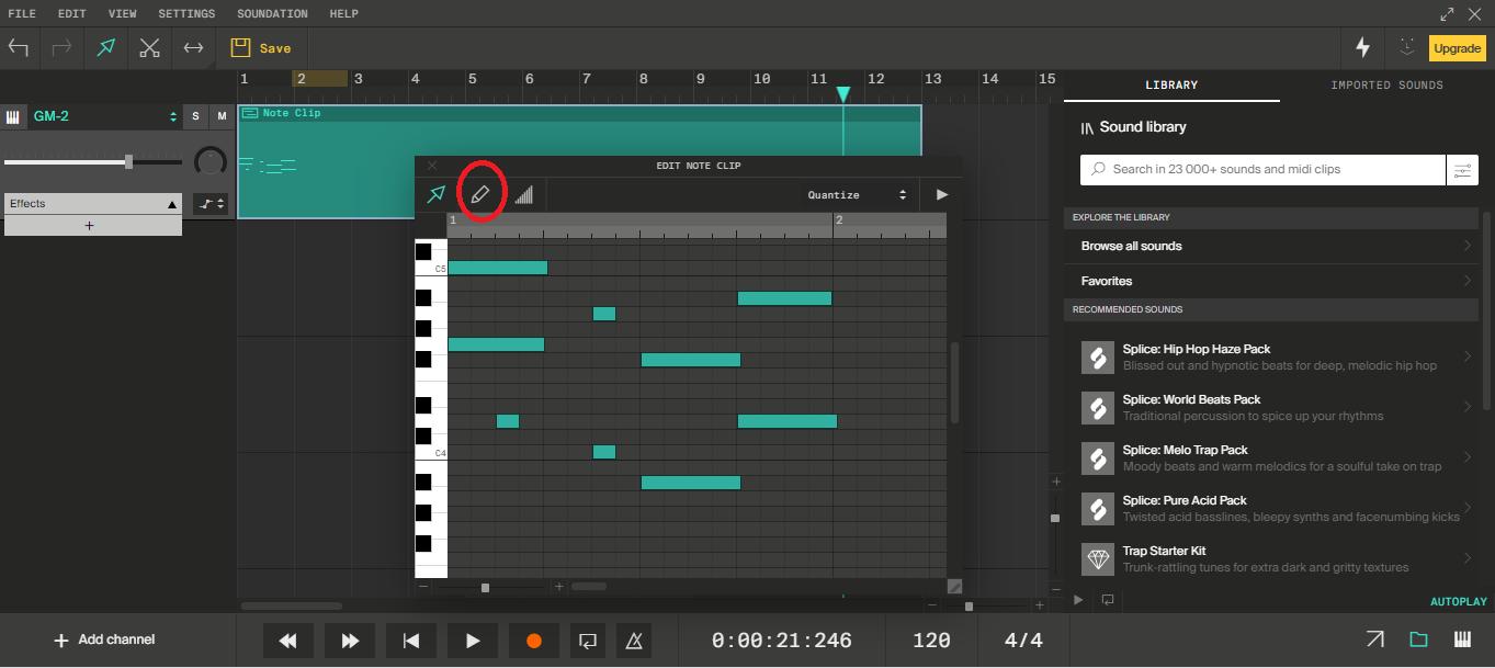 Editor MIDI.