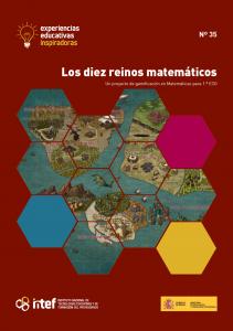 """Portada de la experiencia """"Los diez reinos matemáticos"""""""