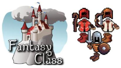 En FantasyClass los alumnos elegirán ser guerreros, arqueros o magos.