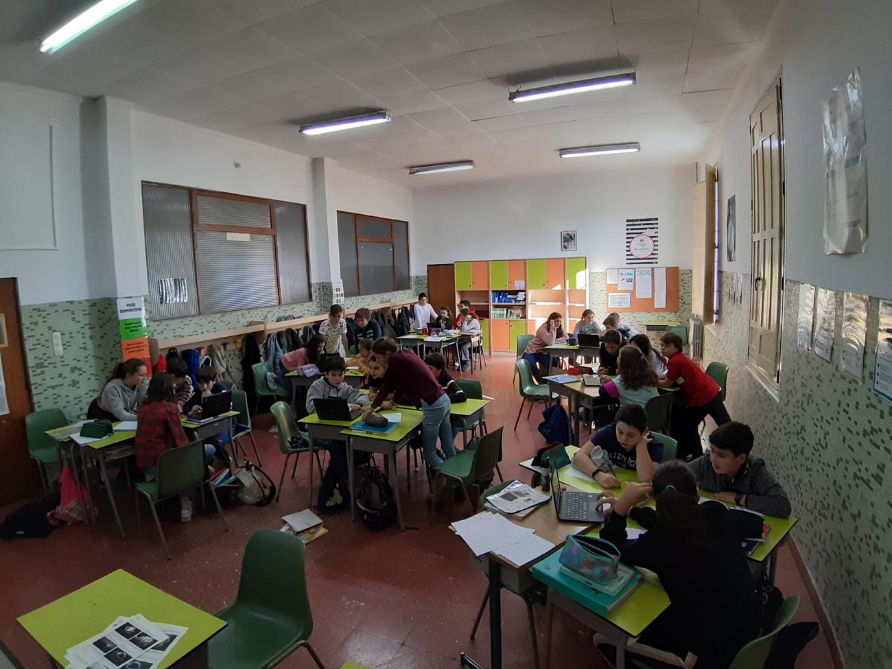 Con la gamificación los alumnos se implican más en su trabajo en el aula.