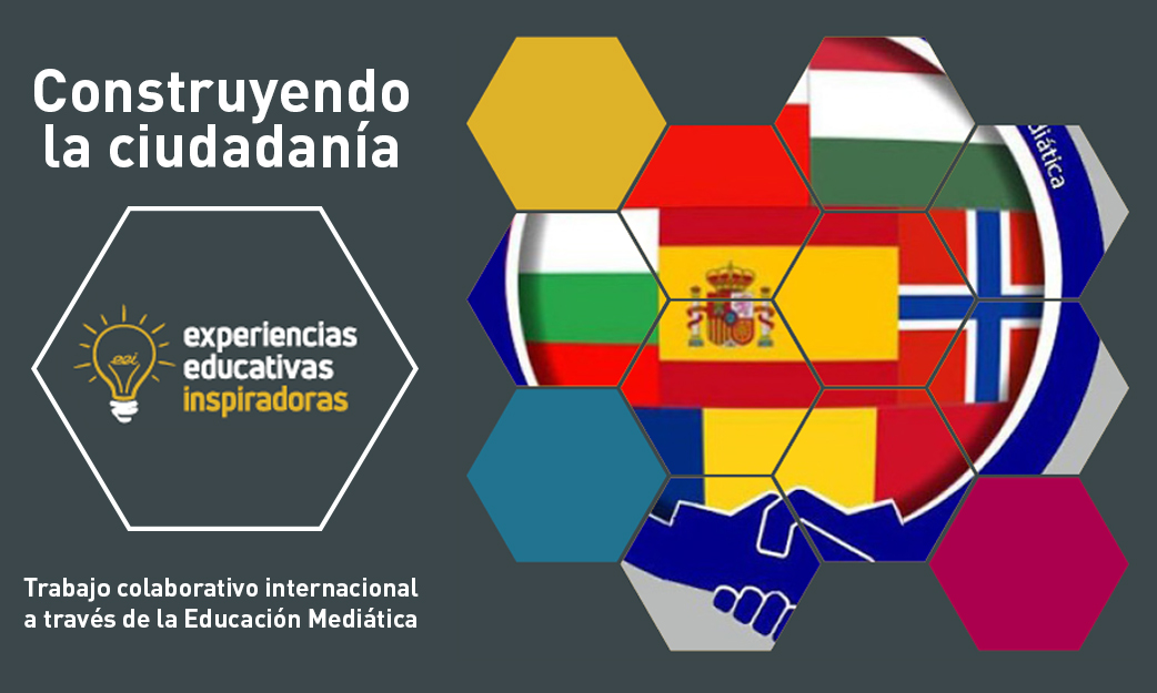 """Experiencia Educativa Inspiradora """"Construyendo Ciudadanía Europea"""""""