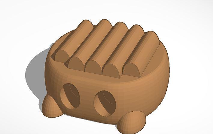 Robot 3D con Tinkercad.