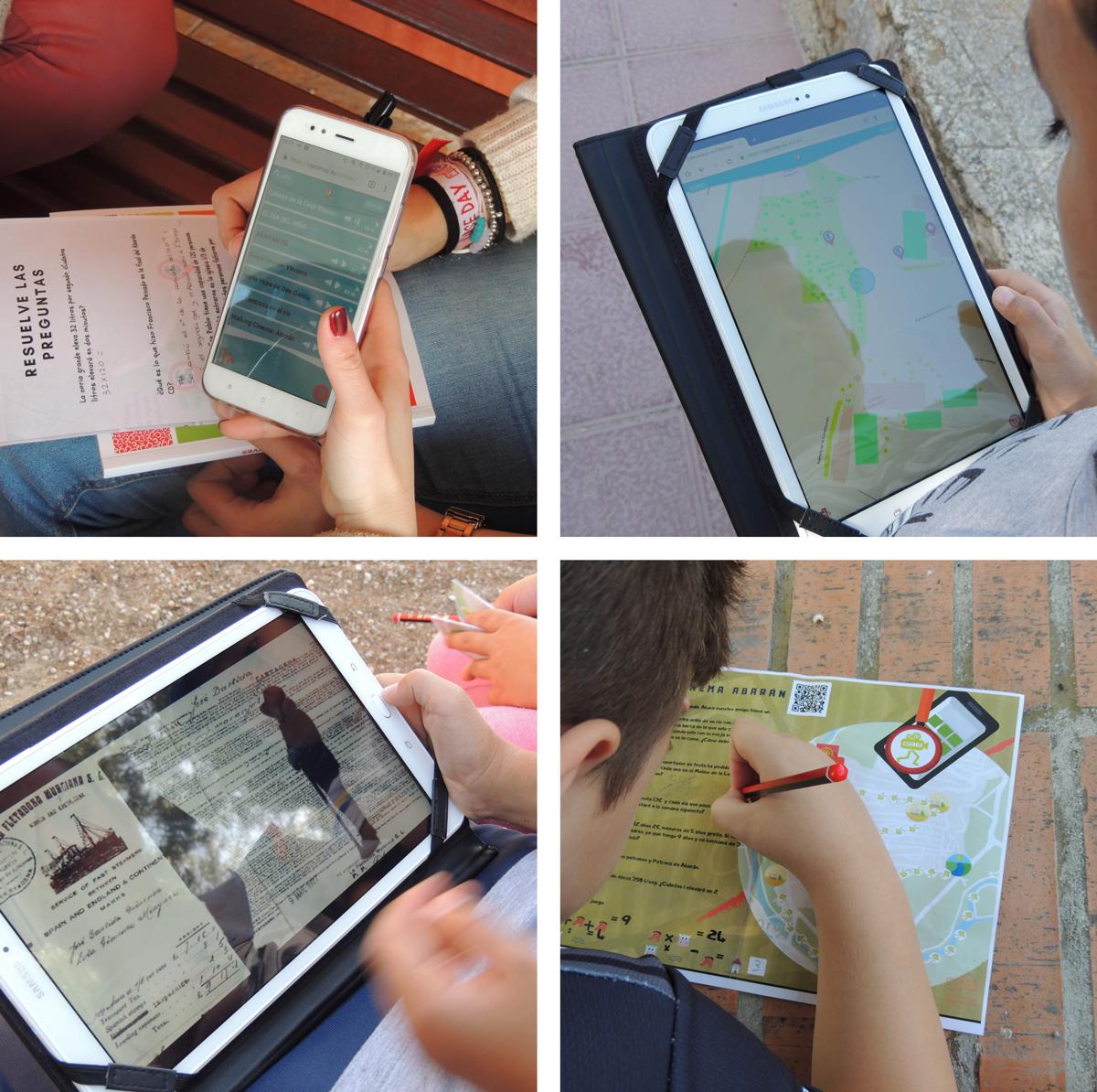 Alumnado la app-web CGeomap.
