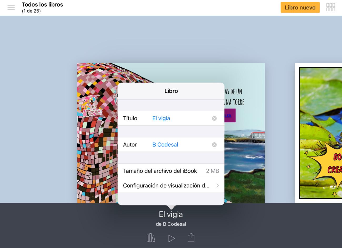 Titular un libro app
