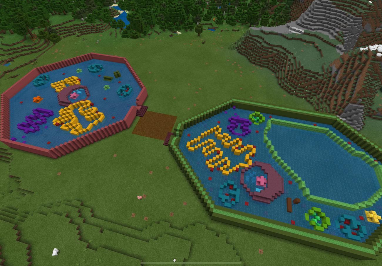 Escenario educativo de Minecraft:EE