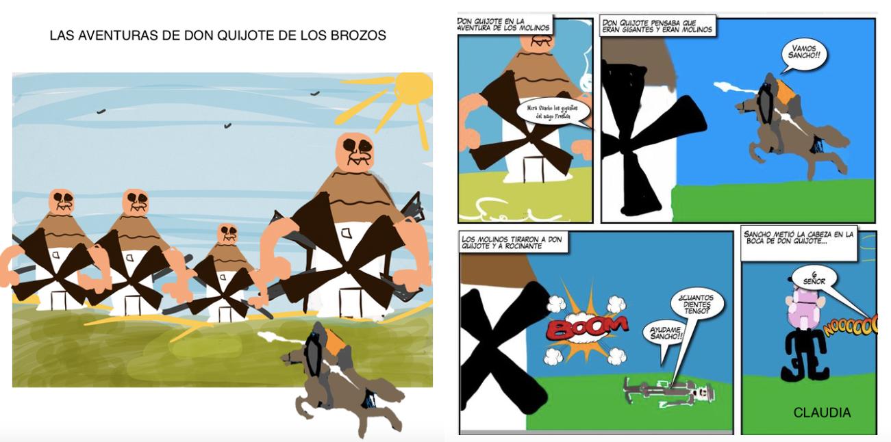 Las aventuras de Don Quijote de los Brozos
