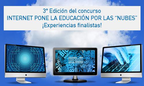 """Concurso """"Internet pone la educación por 'las nubes'"""" (2021): experiencias finalistas"""