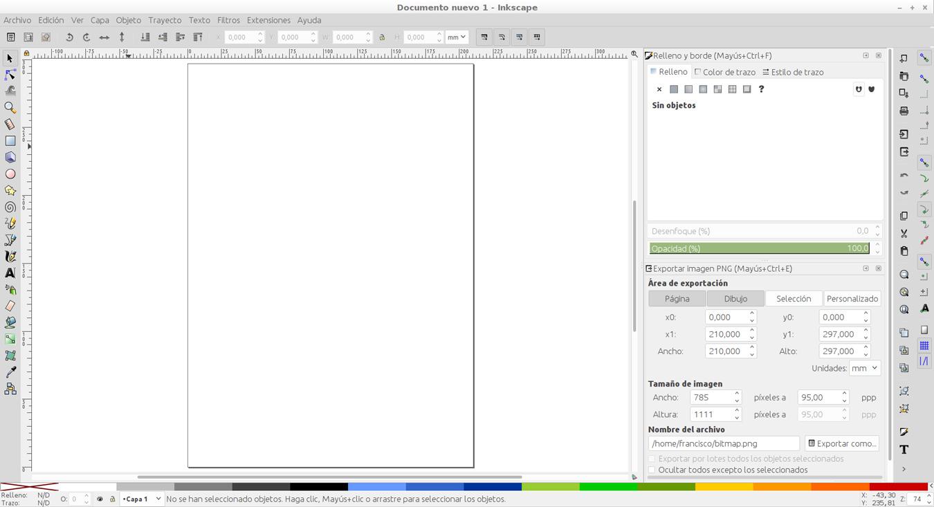 Los iconos de las herramientas que aparecen en la imagen podrían variar ligeramente según el sistema operativo o la versión del programa usados.
