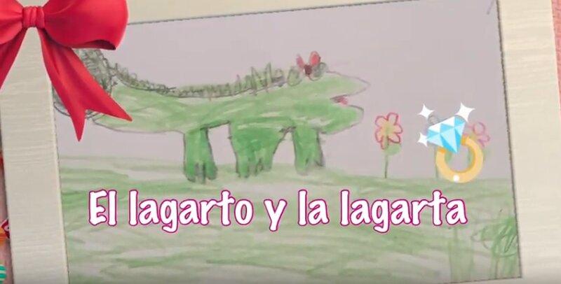 """Portada del vídeo """"El Lagarto y la lagarta""""."""