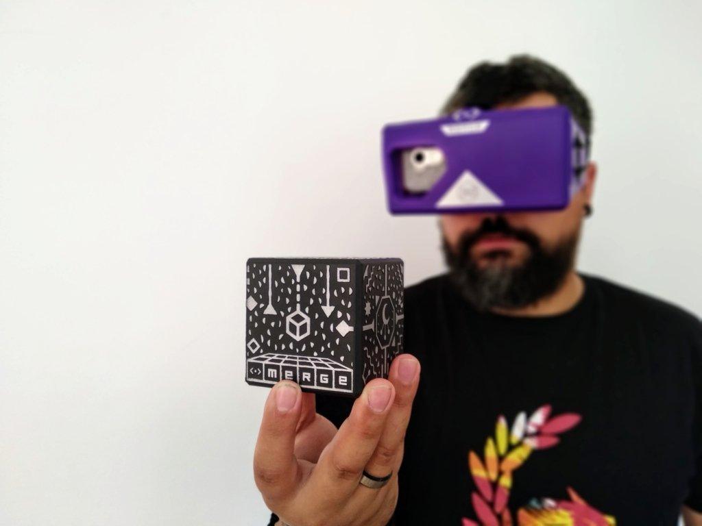 """El """"Merge Cube"""" y la realidad aumentada ofrecen múltiples variantes y posibilidades."""