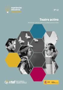 """Portada de la experiencia """"Teatro activo"""""""