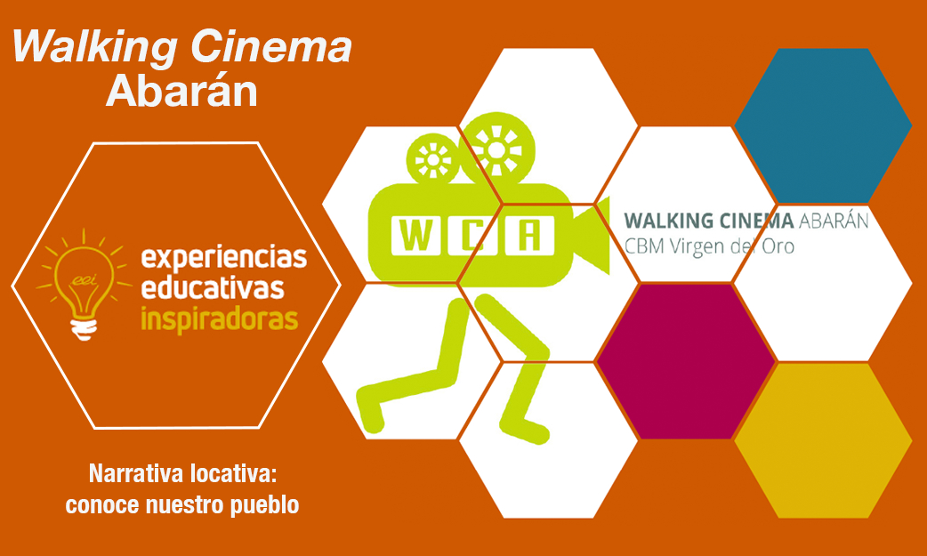 "Experiencia Educativa Inspiradora ""Walking Cinema Abarán"""
