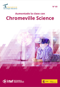 """Portada del artículo del Observatorio """"Aumentando la clase con Chromeville Science"""""""