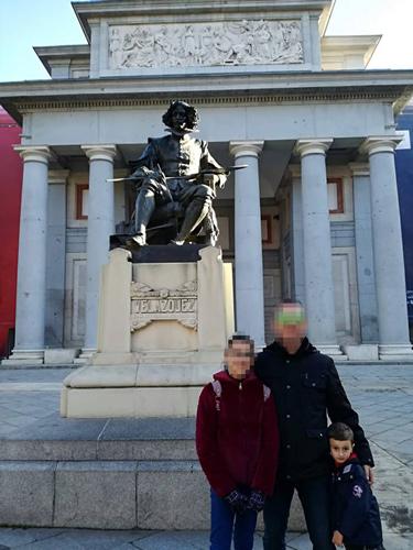 Algunos visitaron el museo y volvieron encantados de poder ver lo aprendido en el aula.