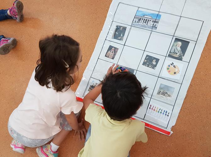 Aprendimos jugando, interactuando y ayudándonos.