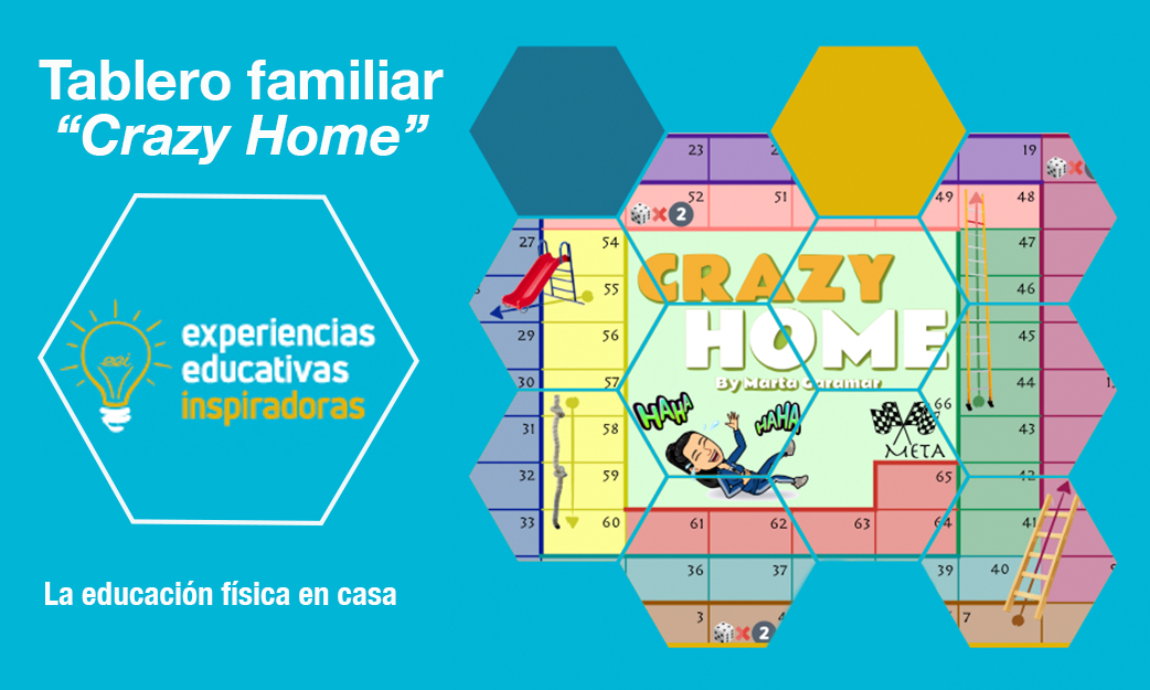 "Experiencia Educativa Inspiradora: Tablero familiar ""Crazy home"""