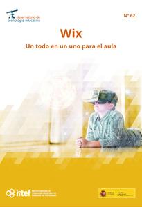 Portada del artículo del Observatorio de Tecnología Educativa dedicado a Wix
