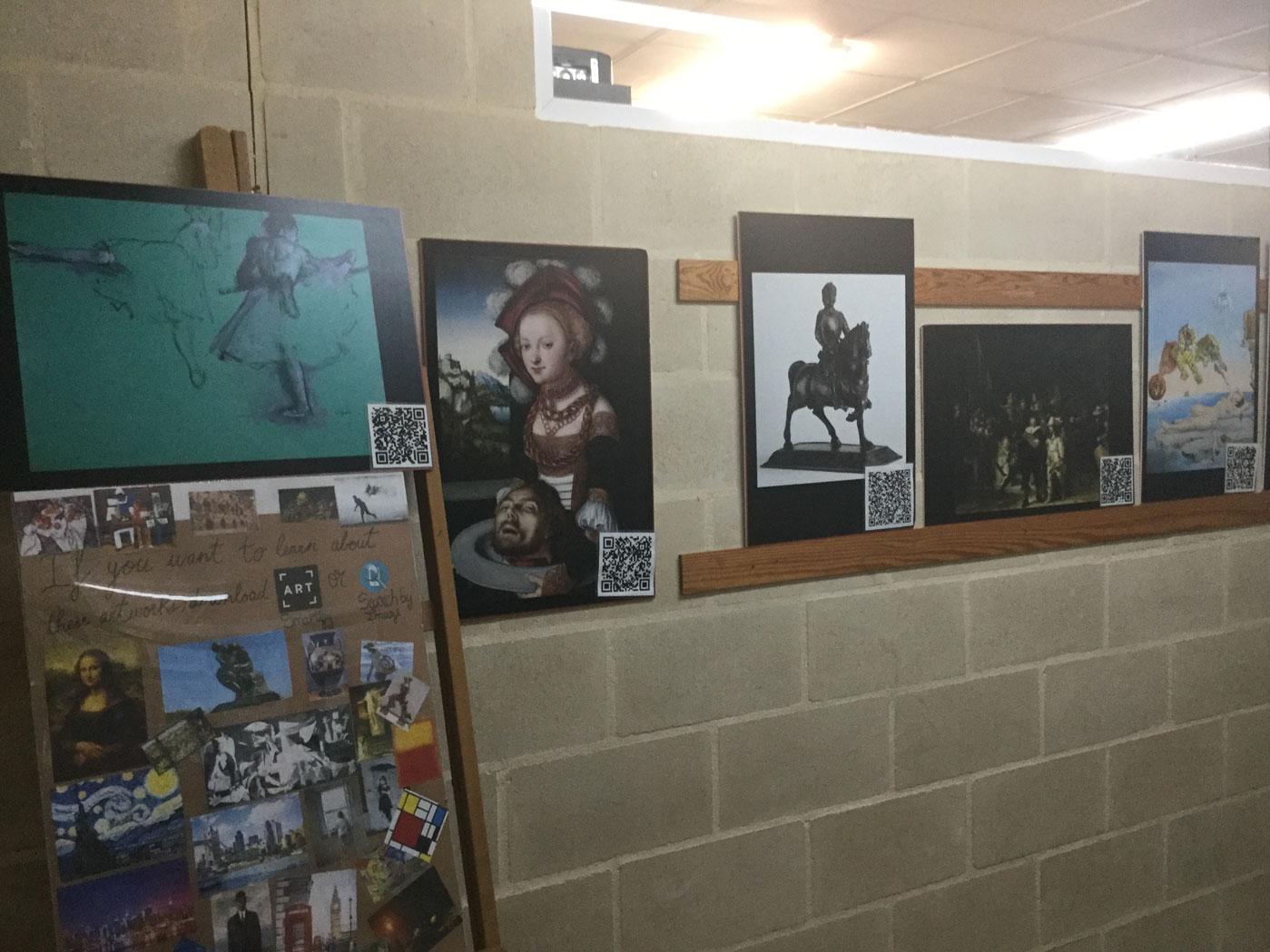 Exposición del producto final desarrollado por el alumnado.