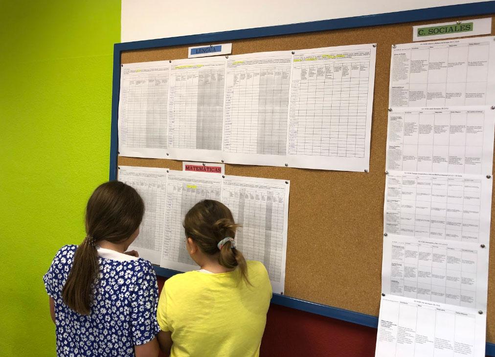 Referentes de evaluación consultados por el alumnado.