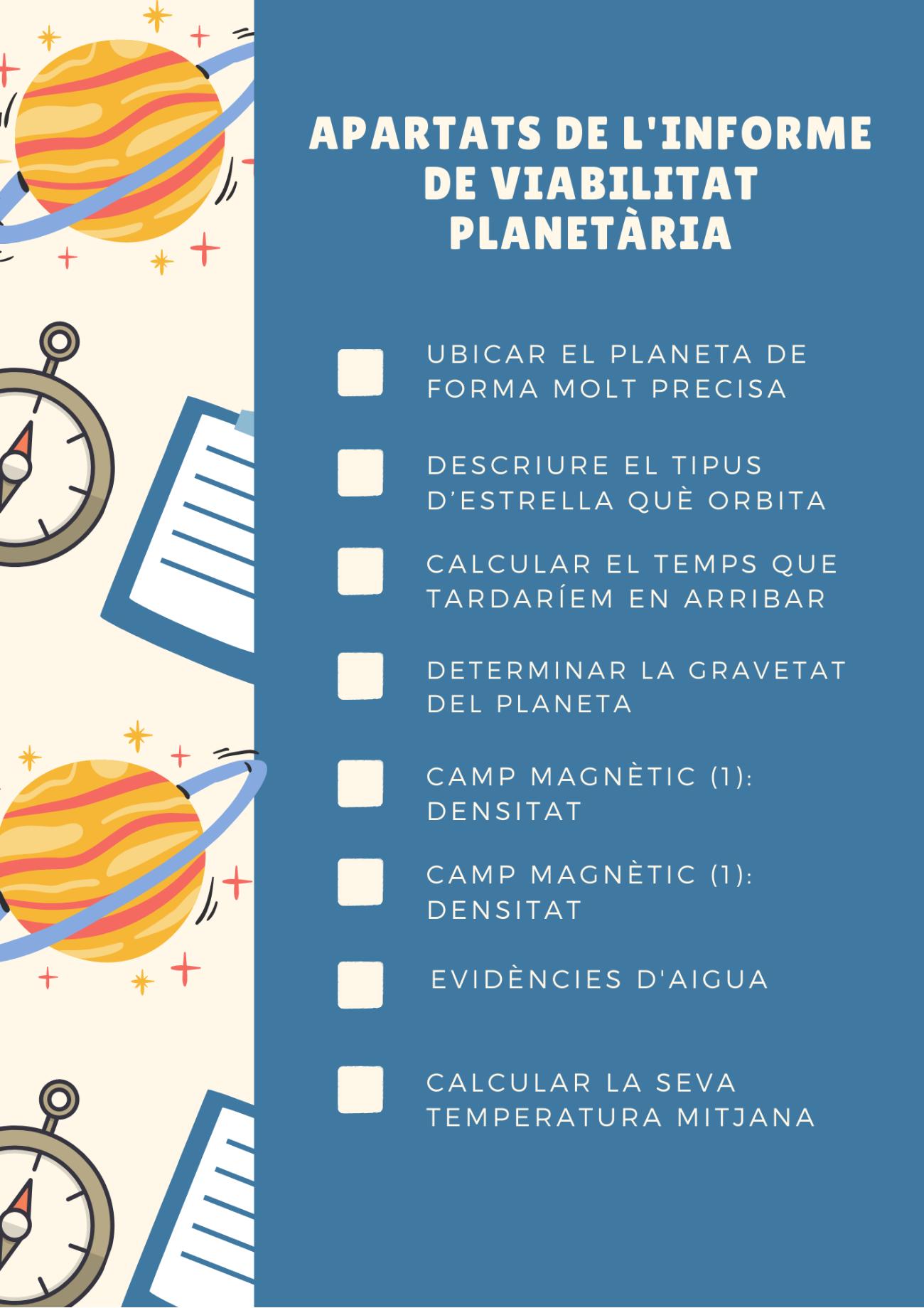 Informe de viabilidad planetaria.